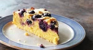 Κέικ με μαρμελάδα βατόμουρο χωρίς ζάχαρη