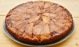 Νηστίσιμη μηλόπιτα χωρίς αυγά, ζάχαρη και βούτυρο