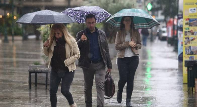 Κακοκαιρία με καταιγίδες, ισχυρούς ανέμους και πτώση θερμοκρασίας-ΑΝΑΛΥΤΙΚΗ ΠΡΟΓΝΩΣΗ