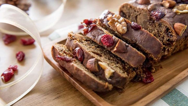 Κέικ σοκολάτας με καρύδια