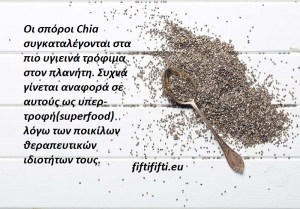 Oι θαυματουργοί σπόροι chia