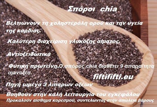 Τι είναι οι σπόροι Chia