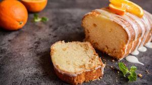 Cake με ταχίνι & πορτοκάλι