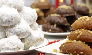 Read more about the article Μελομακάρονα και κουραμπιέδες: Πώς προέκυψαν οι ονομασίες των χριστουγεννιάτικων εδεσμάτων