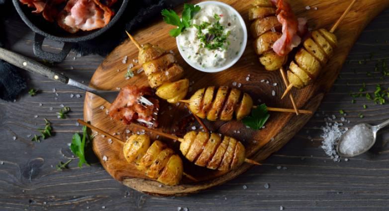 Συνταγή για πατάτες στο φούρνο λουκούμι!