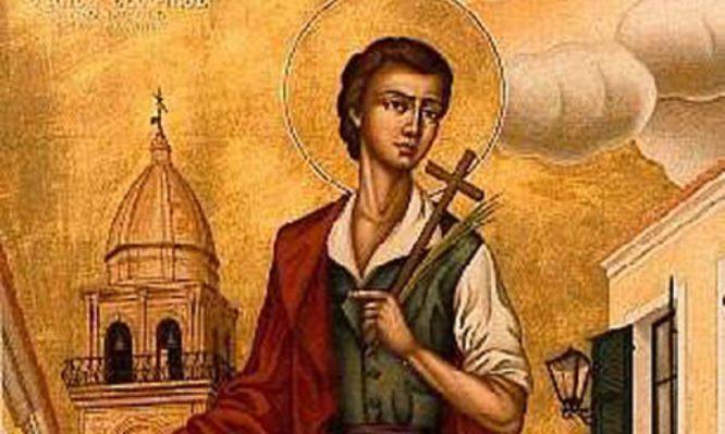 Στις 24 Ιουλίου τιμάται ο Άγιος Θεόφιλος