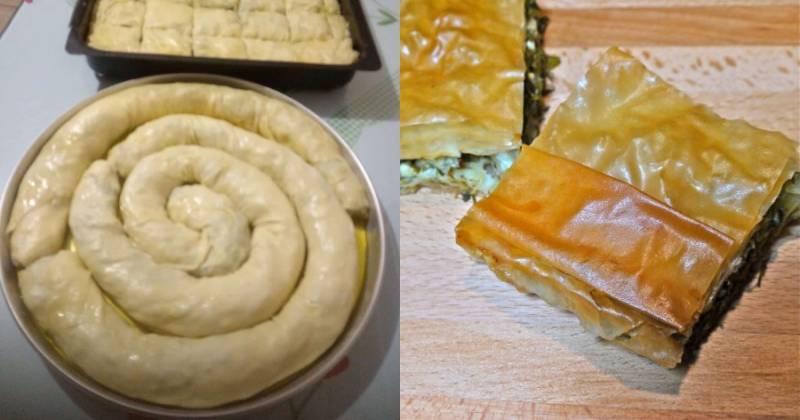 Χορτόπιτα με φέτα: Η τέλεια συνταγή για τραγανό φύλλο, χωρίς ν' απορροφήσει το λάδι