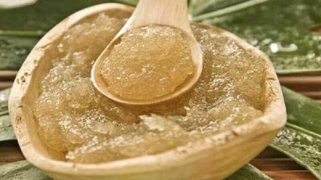 Θεραπεία με ζάχαρη και ελαιόλαδο για το δέρμα