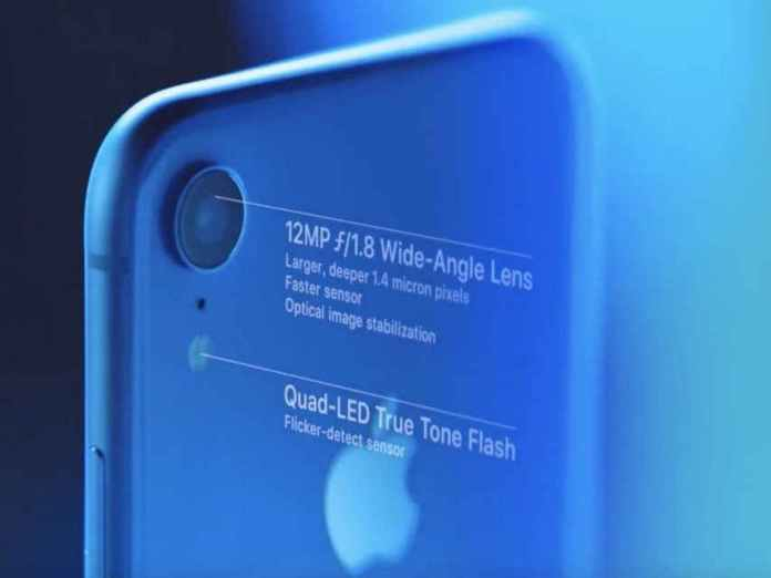 iphone xr camera specifications