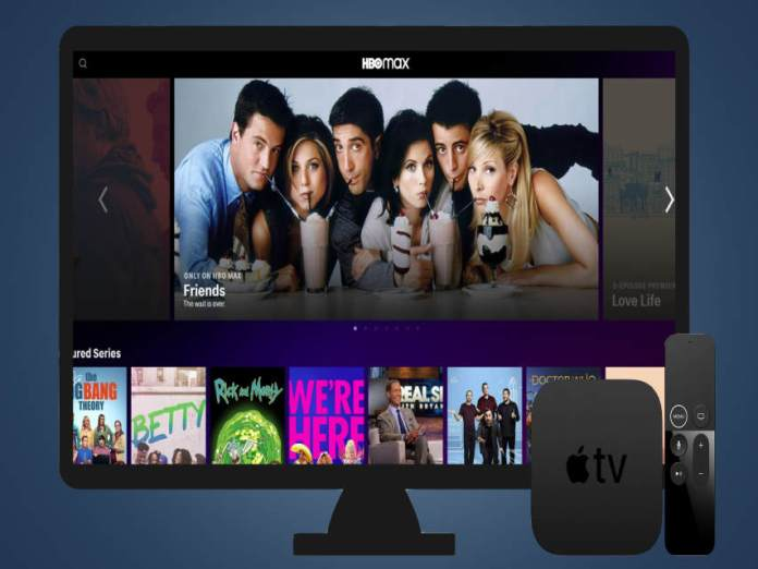 how to add hbo max to apple tv