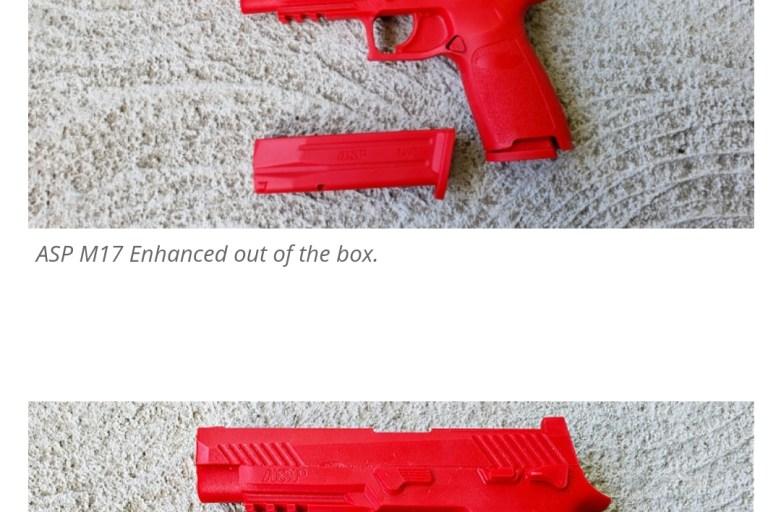 M17 Enhanced Red Gun from ASP