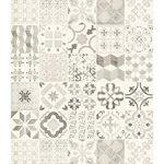 tapis vinyle carreaux de ciment tapis