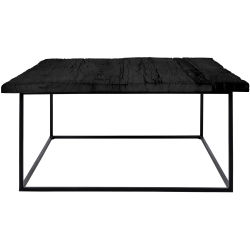 table basse noir carre e conforama