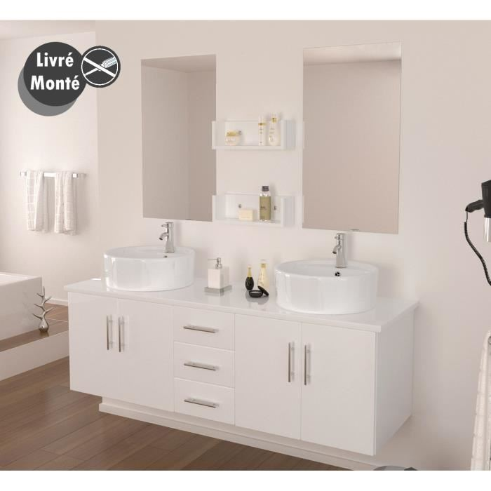 Lavabo Salle De Bain Double Vasque Up Position