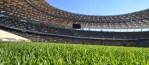 Manutenzione del campo di calcio