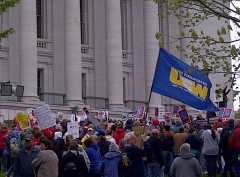 May 14 protest in Madison slams Governor Walker