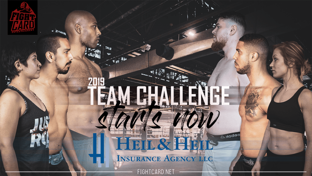 2019 Team Challenge – Mixed Martial Arts | Chicago | Fight Card