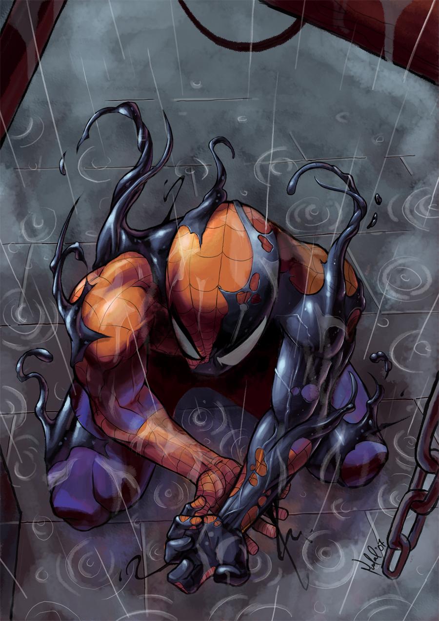 Toxin Man Spider Symbiote