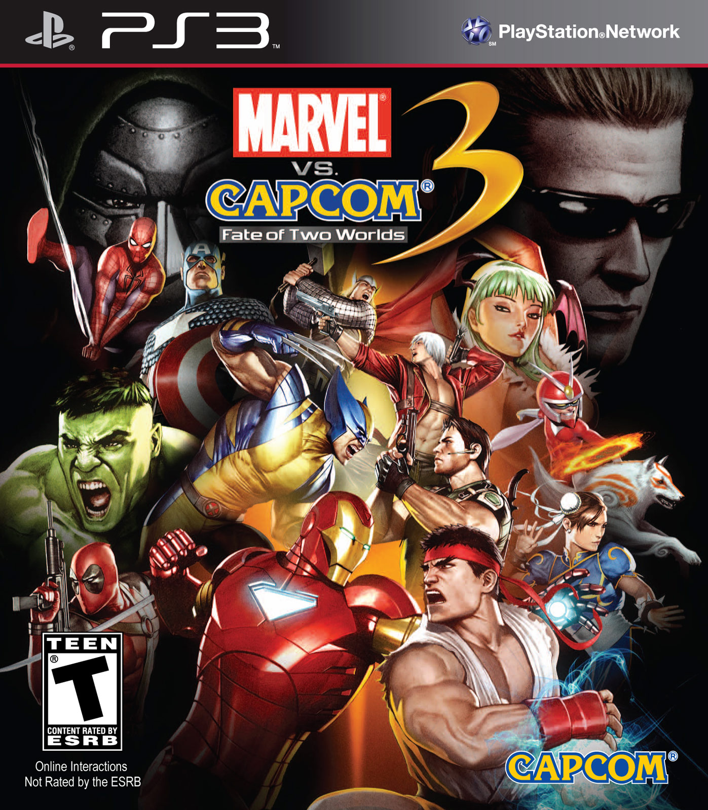 Marvel VS Capcom 3 TFG Review Artwork Gallery