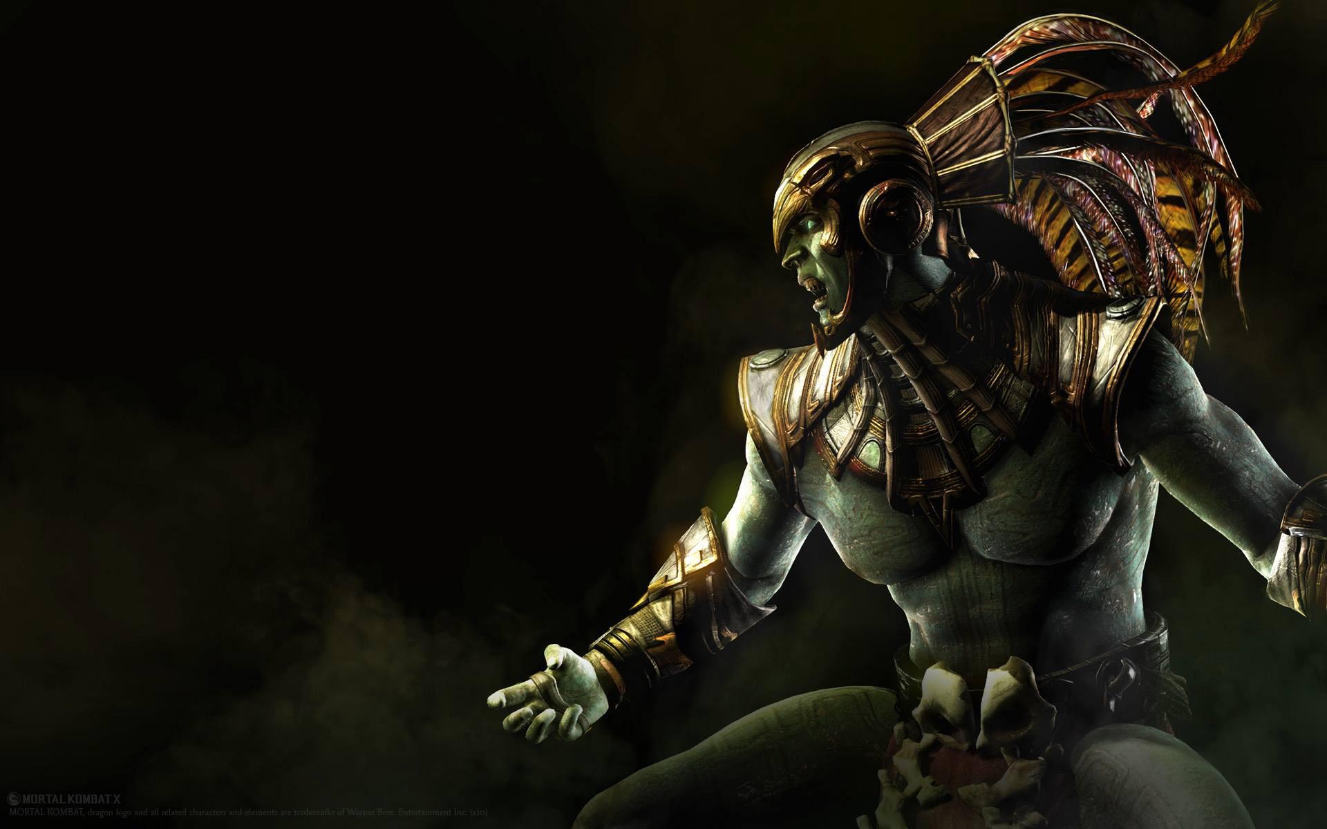 Mortal Kombat X Character Artwork