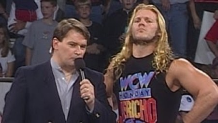 Chris Jericho and Disco Inferno Discuss Man of 1004 Holds WCW Promo |  Fightful Wrestling