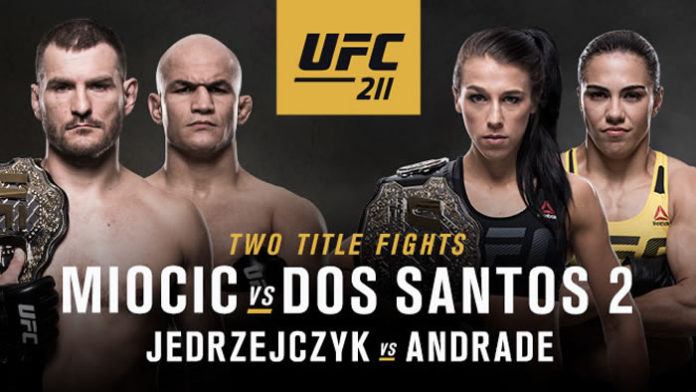 Image result for UFC 211: MIOCIC VS. DOS SANTOS 2