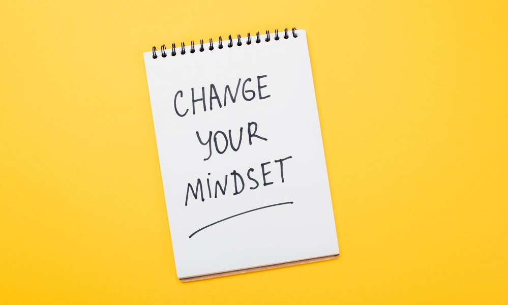 Change your mindset on notebook