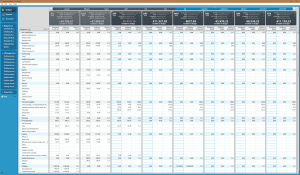 Window capture of the budget screen of YNAB4
