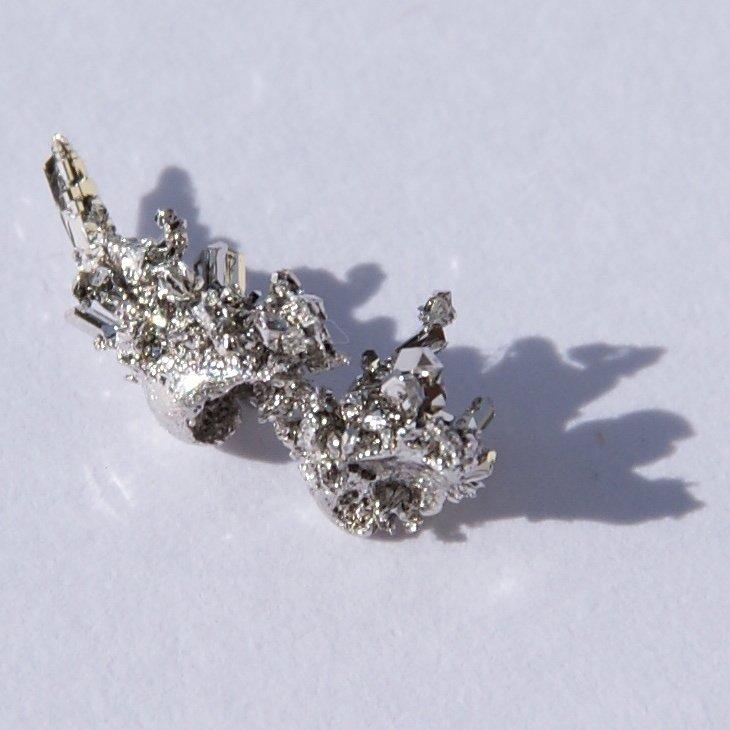 Raw Palladium, The Most Precious Of Metals