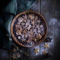Mincemeat and Marzipan Tart