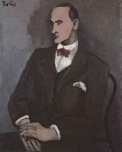 Wilhelm Uhde im Portrait von Helmut Kolle