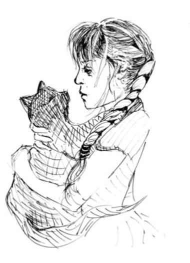 gezeichnete gesichter kunst-meissen-zeichnung-iris-hilpert