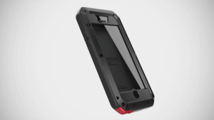 The Lunatik Taktik Extreme is the only iPhone case that comes with another sheet of Corning Gorilla Glass.
