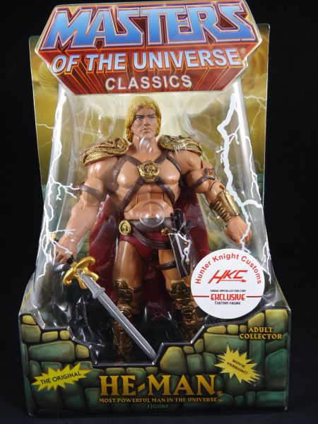 Hunter Knight Customs He-Man verpackt