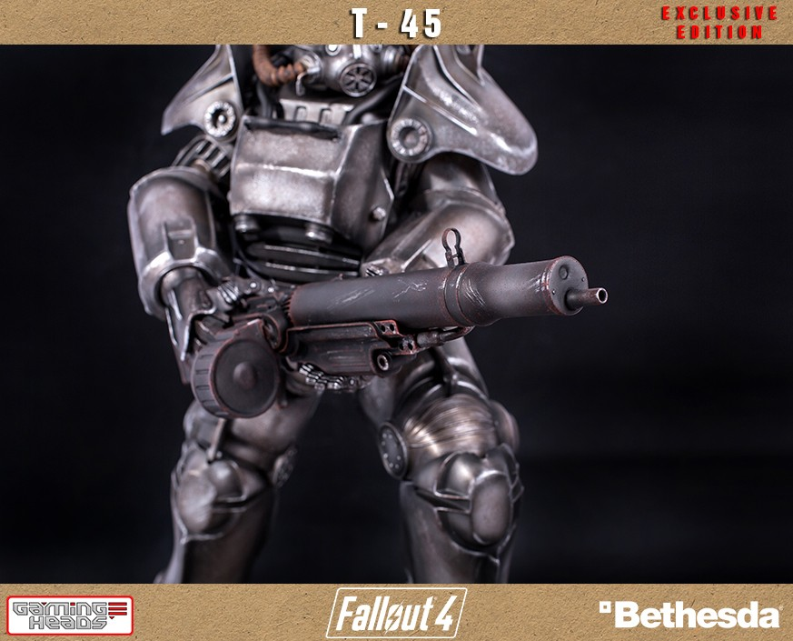 Gaming Heads Fallout 4 14 Scale T 45 Power Armor Statue