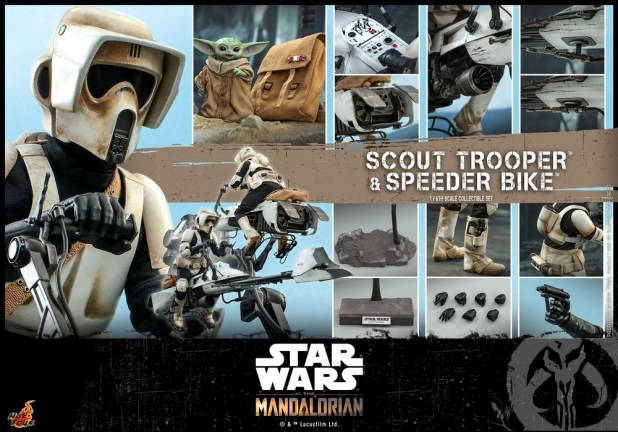 Hot Toys - SWM - Scout Trooper and Speeder Bike Collectible Set_PR24