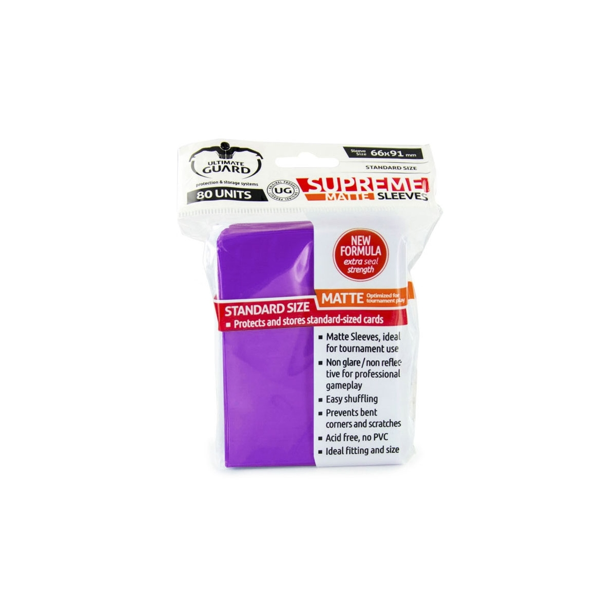 Ultimate Guard 80 Pochettes Supreme Sleeves Taille