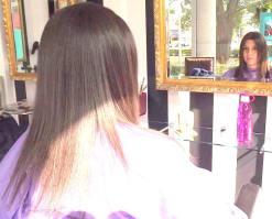 trajno ispraljvanje kose finiš