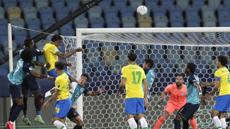 Ecuador draw ends Brazil's winning run in Copa America