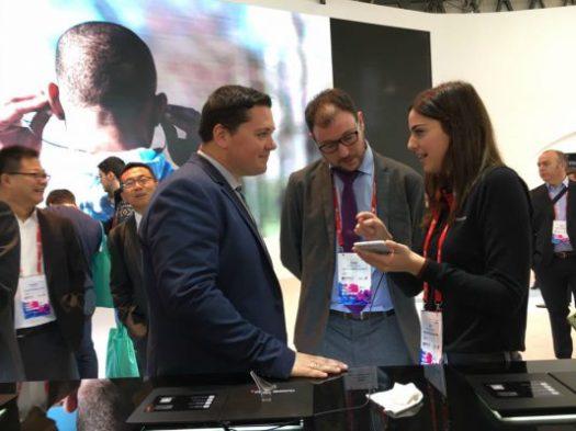 Mobile World Congress: Amb la delegació de la Xarxa Onion al Mobile World Congress 2017. Març 2017.