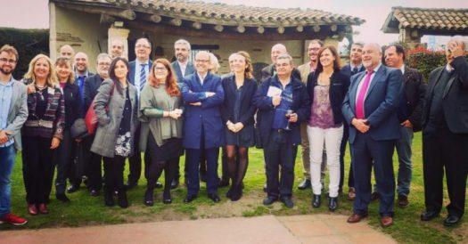 Trobada empresarial AEFOL: A l'acte de networking empresarial organitzat per AEFOL i Sage a Sant Cugat del Vallès. Abril 2018.