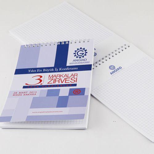 Angiad Bloknot tasarımı