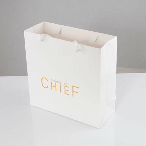 Chef Çikolata Karton Çanta tasarımı