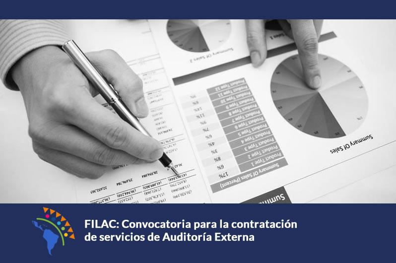 FILAC: Convocatoria para la contratación de servicios de Auditoría Externa