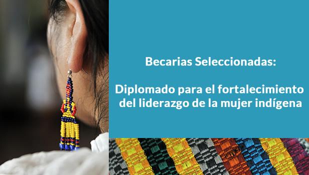 Becarias Seleccionadas: Diplomado para el Fortalecimiento del Liderazgo de la Mujer Indígena