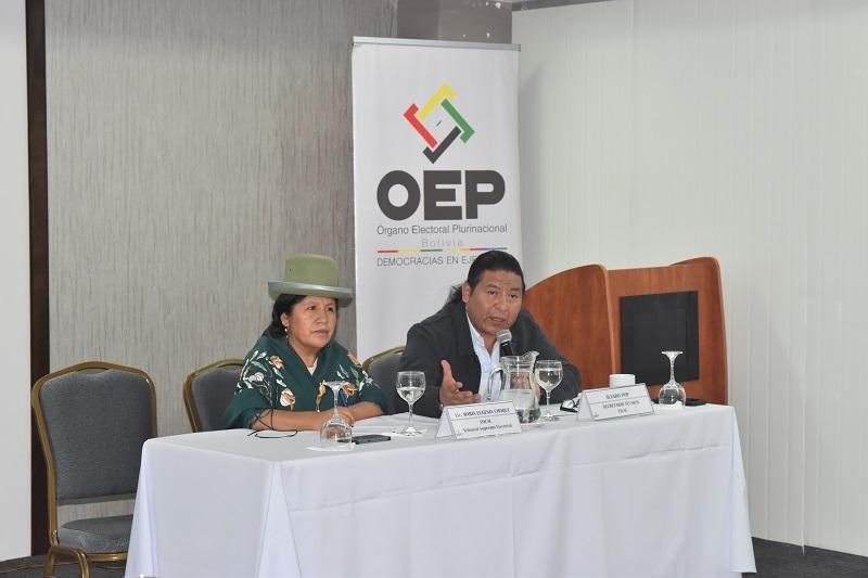 FILAC participa del Encuentro Nacional de Vocales Electorales Indígenas