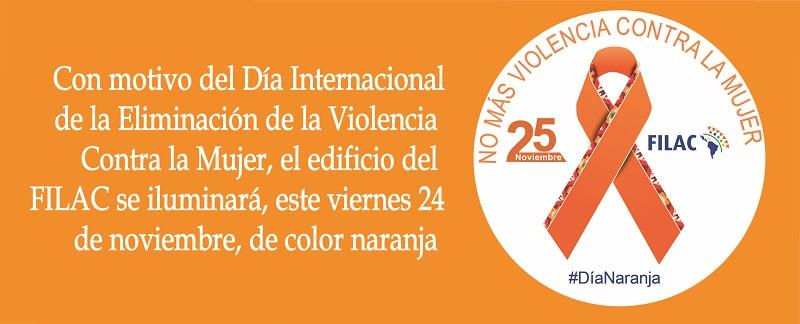 FILAC se suma a la Campaña: Únete para poner fin a la violencia contra las mujeres y niñas