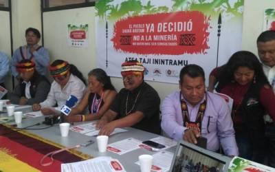 Conaie denuncia persecución por luchar contra la minería