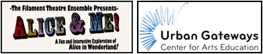 Alice & Me!, Urban Gateways, School Tour, Theatre, Chicago, Filament Theatre
