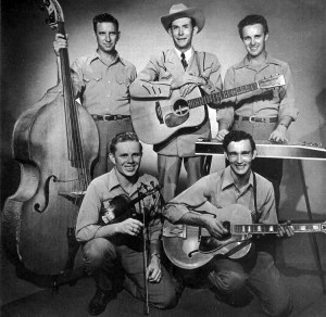 Hank Williams, Drifting Cowboys, Chicago. Music, theatre, theater, folk, country